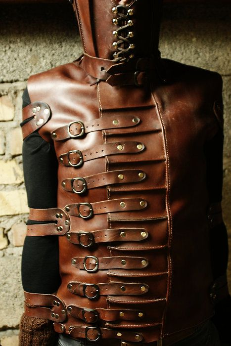 steampunk straight jacket