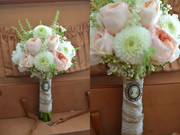 Vintage wedding bouqet / vintage vjenčani buket