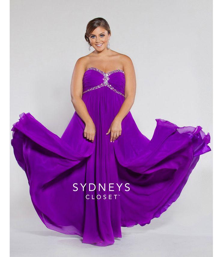 Mejores 64 imágenes de Plus Size Prom Dresses en Pinterest ...