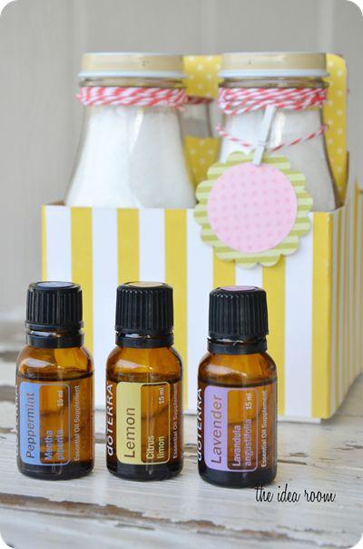 Homemade bath salts recipe made with dōTERRA essential oils.