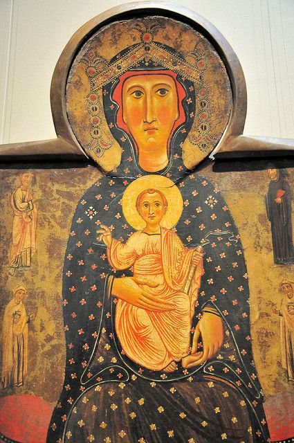 Byzantine Madonna and Child at National Art Gallery Washington DC | Flickr - Photo Sharing!