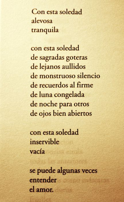 benedetti: Mario Benedetti, Luna Congelada, With This, Esta Soledad, Phrases, Mariobenedetti, El Amor, Poem