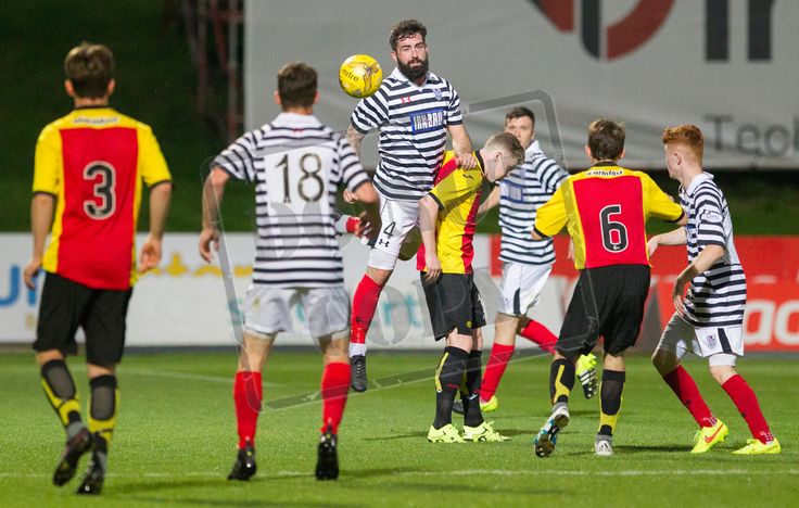 Queen's Park's Bryan Wharton in action during the IRN-BRU Cup game between Partick Thistle Colts and Queen's Park.