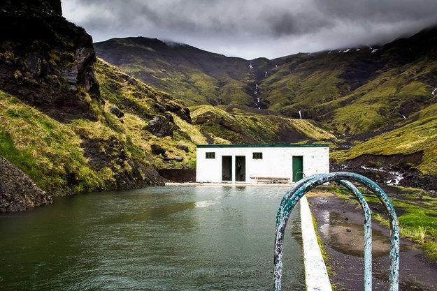 İzlanda-Seljavallalaug Pool