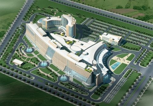 Peking University International Hospital, Beijing - 作品介紹 - C.C.Hsu & Associates Architects and Engineers