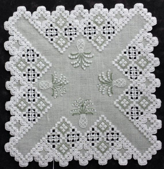 .small square hardanger piece, worth trying