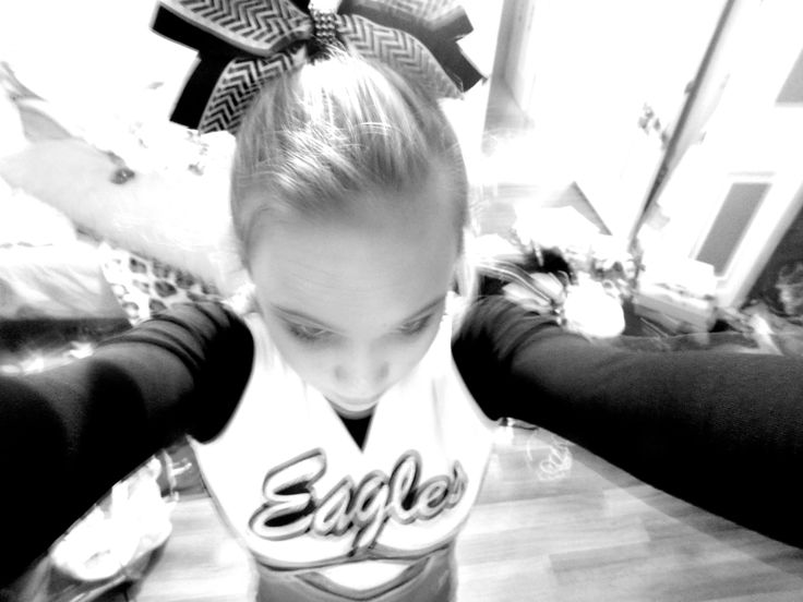 I will always be a cheerleader no matter what. Cheer is in my blood. You can't take it out.