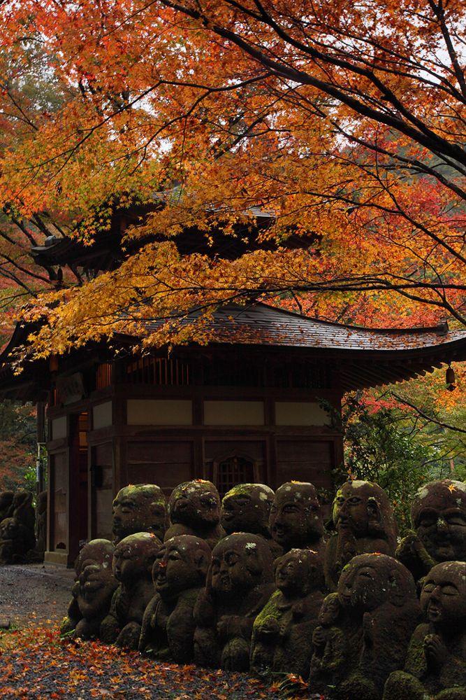 Adashino Nenbutsu-ji Temple, Kyoto, Japan