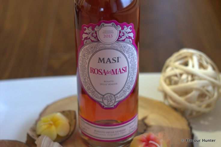 Masi rosa dei Masi is a refreshing rose wine with aromas of spice and wild rose! #winewednesday