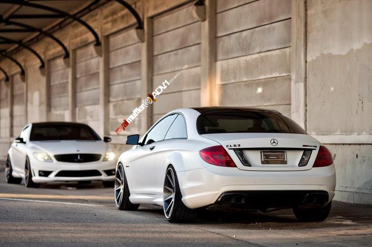 Mercedes Benz CL63 AMG