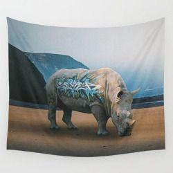 surrealism rhino