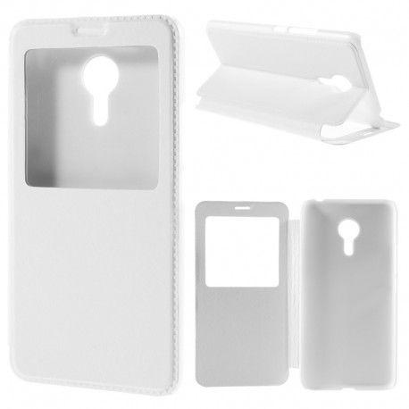 Husa Meizu Pro 5 (5.7 inch) Flip Cover Alb