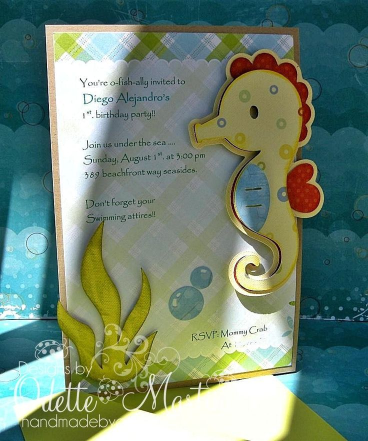 find this pin and more on invitations join the party under the sea