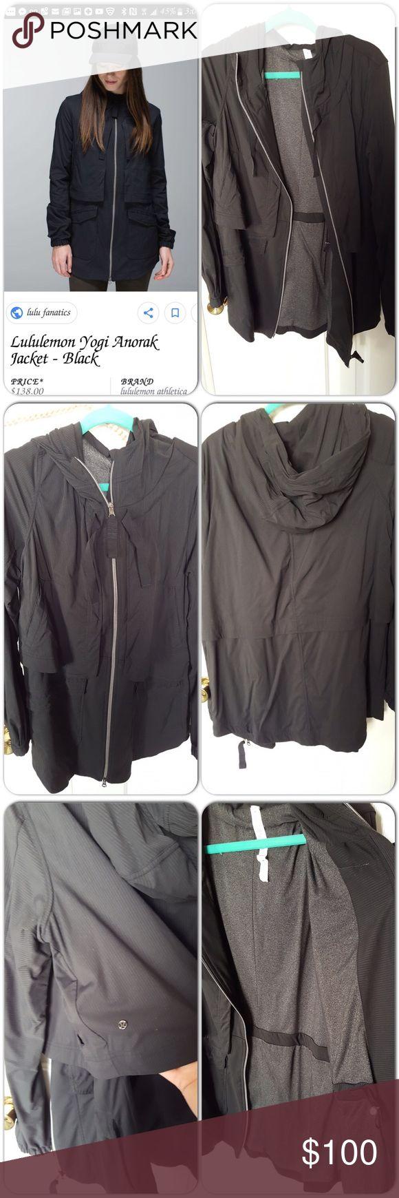 Lululemon anorak Like new condition, double layers, lots of pockets, light jacket, great for layering. lululemon athletica Jackets & Coats Utility Jackets