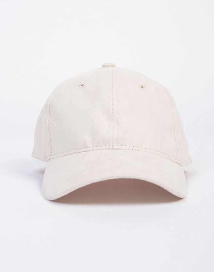 Off-duty? This Suede Baseball Cap is the perfect accessory to take your work outfit to a casual chic outfit. This baseball cap comes in gray or black colors. Features an adjustable back. The material