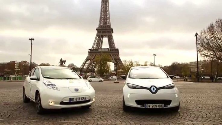 #TBT to December last year in the a Renault UK & Nissan alliance took place to supply over 200 vehicles to the #COP21 climate conference in Paris.