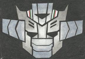 Autobot insignia - Wheeljack (TFP) by LadyIronhide