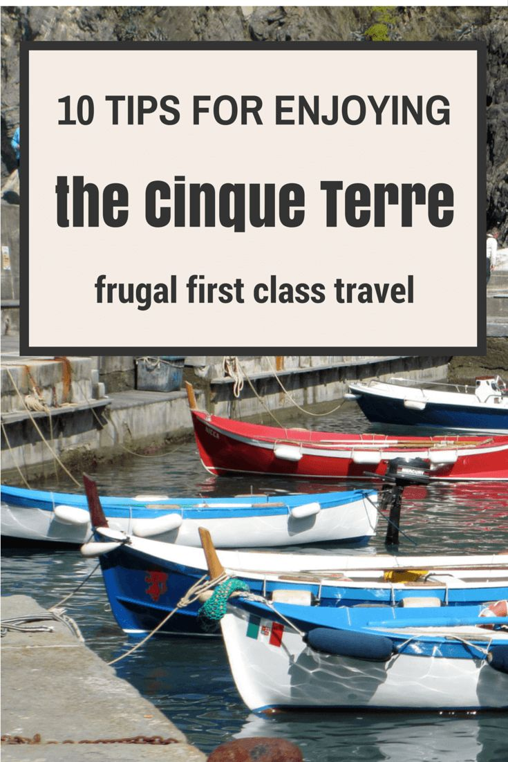 Hi Frugalistas!  The Cinque Terre is a very special part of Italy – laid back, casual and relaxing, it is a great place to have a holiday from your trip.  While many people visit the Cinque T…