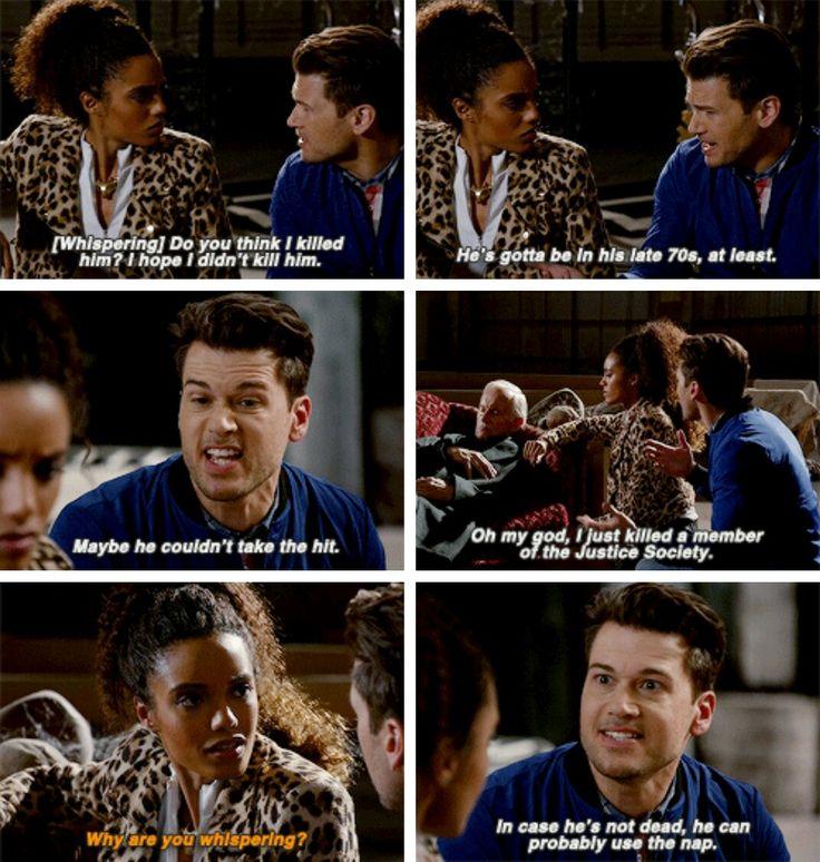 """I'm not an invalid... just old."" #LegendsofTomorrow #Season2 #2x05"