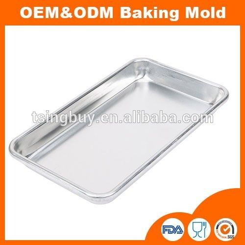 Teflon coated baking tray/ non stick cake pan baking/ stainless steel cookie sheet