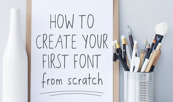 How to Create Your First Font from Scratch: A Step by Step Guide ~ Creative Market Blog