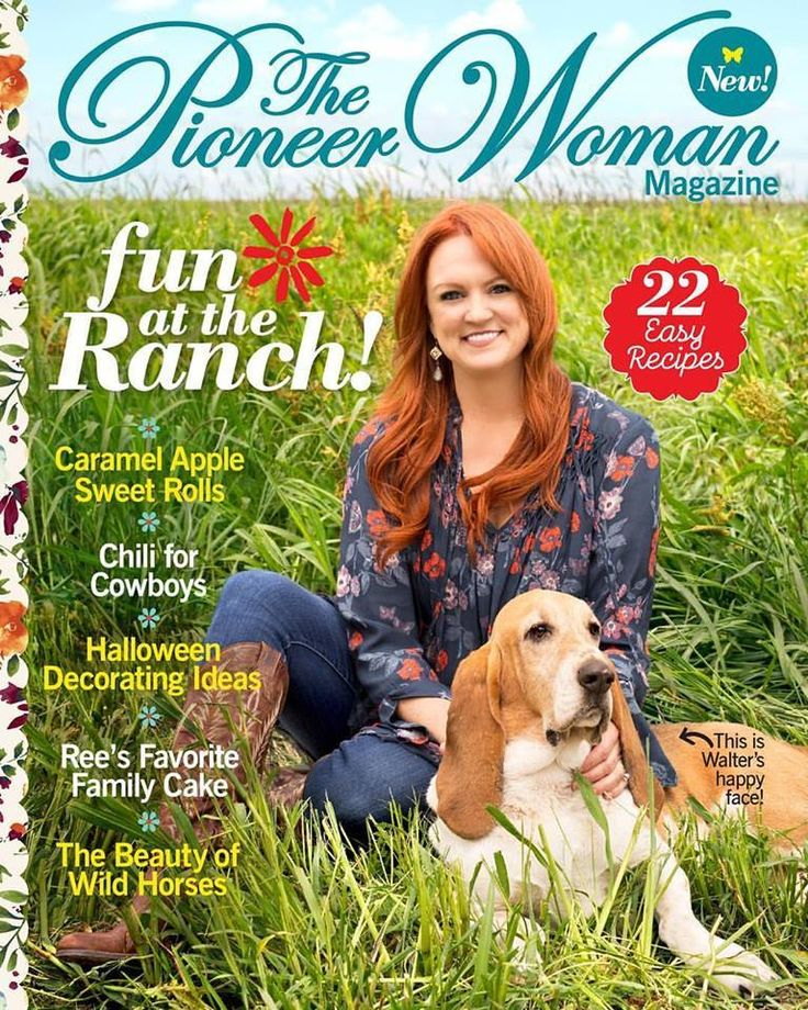 Issue #2 of The PioneerWoman Magazine is finally here! You can find it beginning September 12 at Walmart, as well as most Barnes & Noble, Costco, Sam's Clu