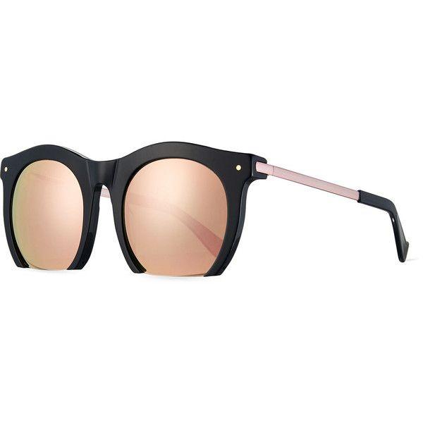 Mohawk Eyewear - Occhiali da sole - Donna rosa Pink Mirror Lens Gold Frame IVb777Br