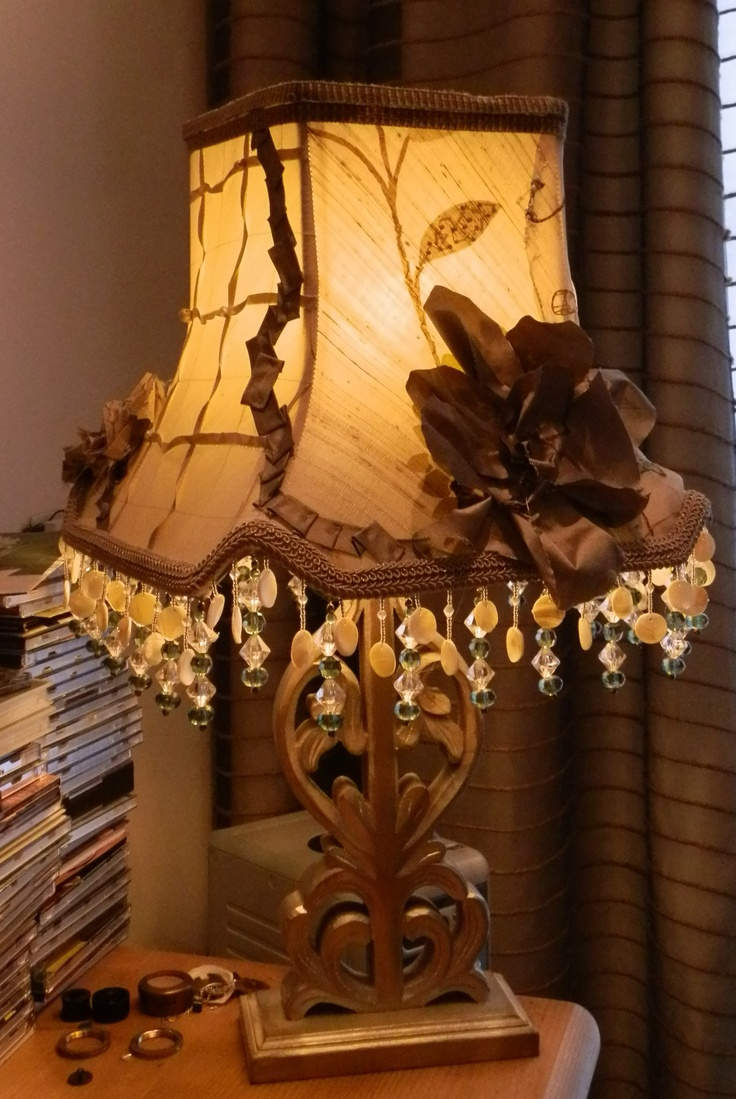 32 best Beaded Lampshades= Love images on Pinterest | Lampshades ...