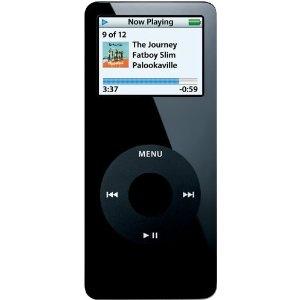 Tori Stuart's Family's Apple iPod nano 1 GB Black 1st Generation