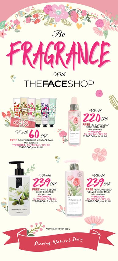 2015 May design for THEFACESHOP Indonesia. @LovelyDay Story