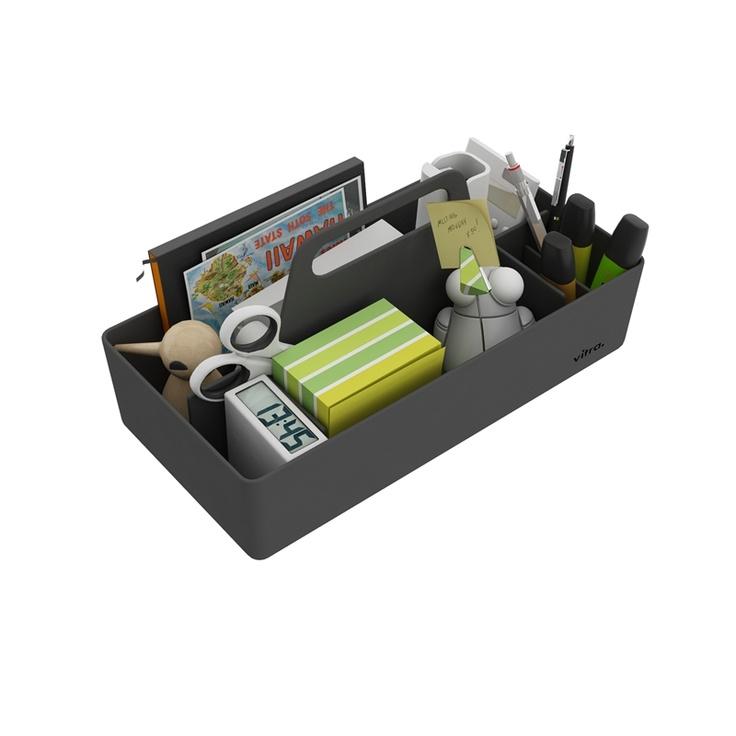 Vitra - Toolbox - Sort - HØGHSHOPPEN - designmøbler, interieur og accessories. 269 kr. stk.
