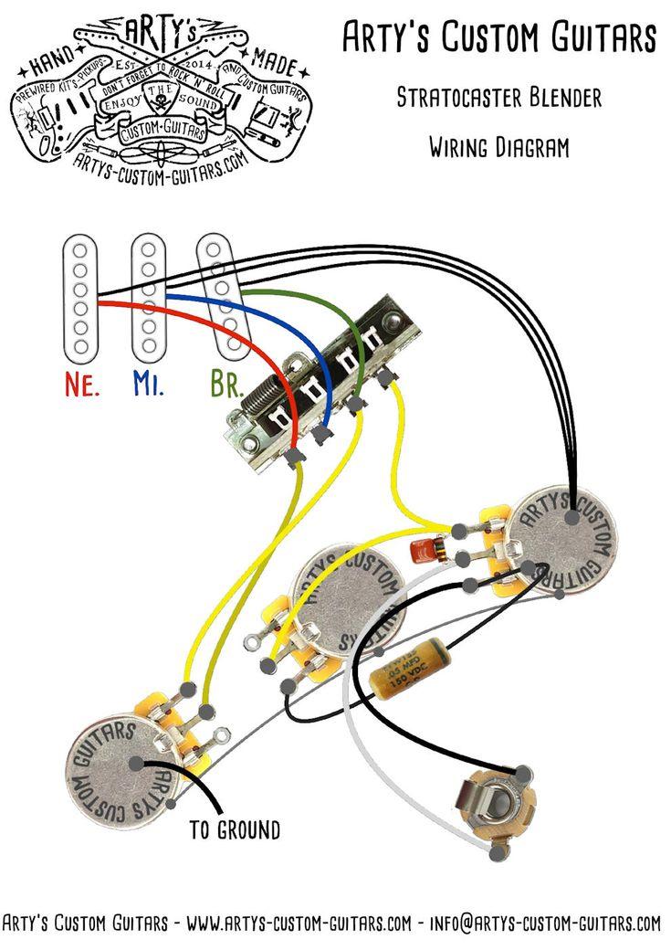 Guitar Pickups, Fender Deluxe Strat Hss Wiring Diagram