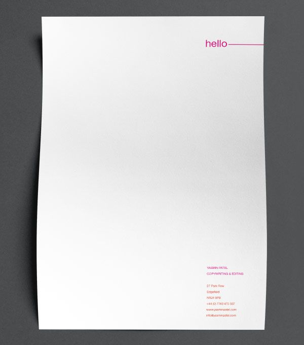 The 25+ best Letterhead design inspiration ideas on Pinterest ...