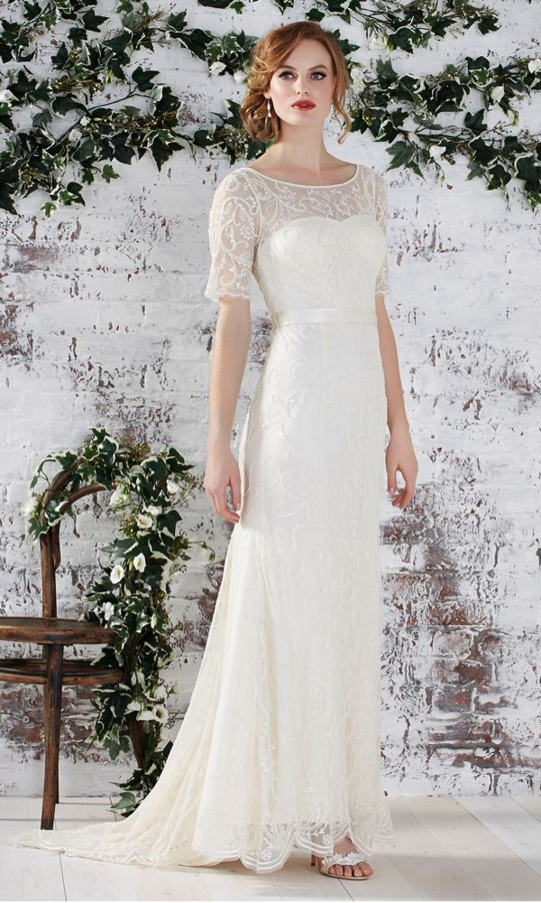 Farah, Monsoon. Wedding dresses under £1000 #weddingdress