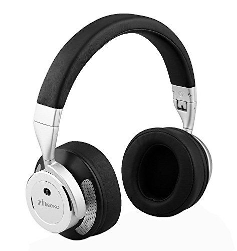 5882e206789 (Zinsoko Z-H01 Wireless Active Noise Cancelling Headphones Over Ear Bluetooth  Headphone Foldable with