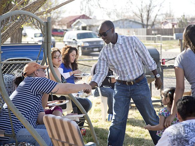 Don Cheadle, Rick Perry, and Climate Change's Impact on One Texas Town