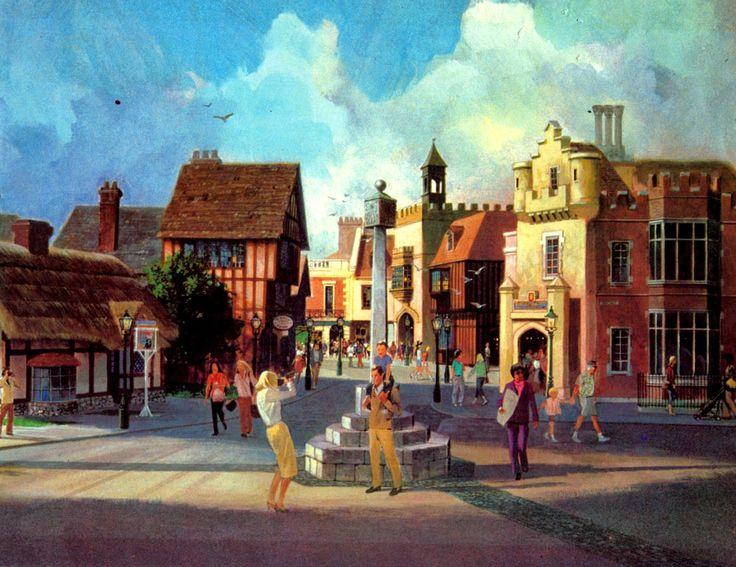 United Kingdom Pavillon, World Showcase, EPCOT Center, Walt Disney World - Collin Campbell