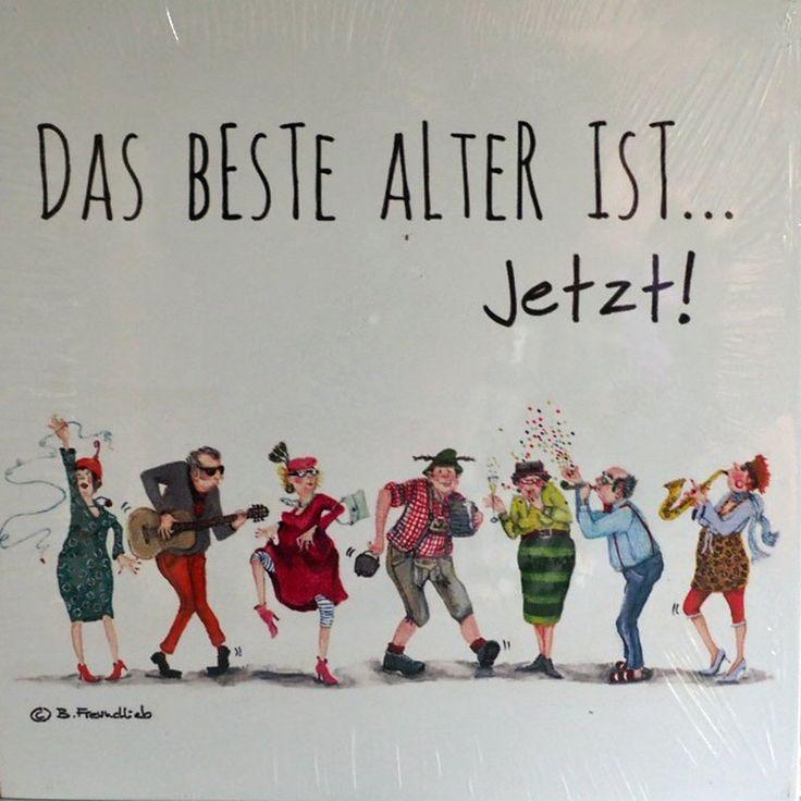 Holzbild – Barbara Freundlieb – DAS BESTE ALTER IS…