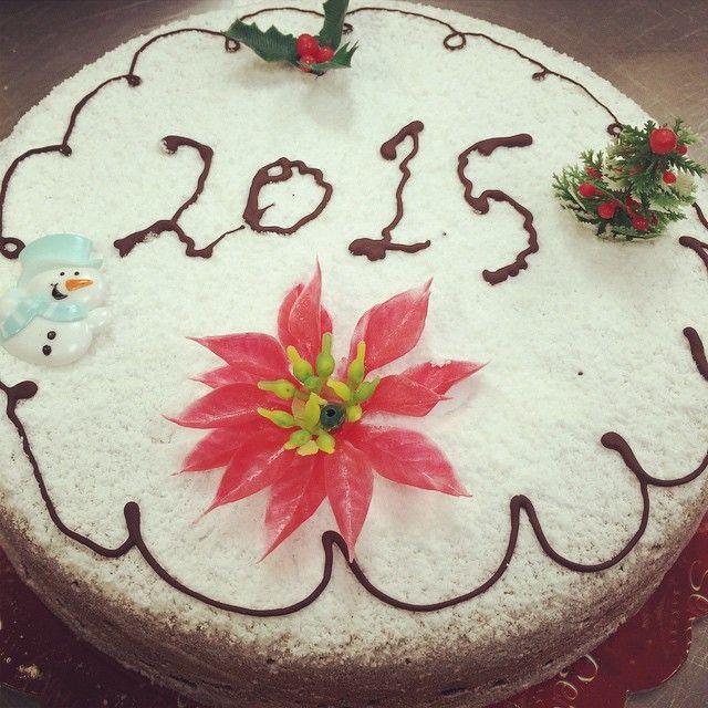 Happy New Year!!! Χρόνια πολλά και καλη χρόνια σ'ολους!!! Happy Nameday to all the Vasili's, Vasiliki's, Basileos', Basil's, Bill's, Bessie's, Vivian's, Vasilina's, Vaso's, Vicky's, Telemahos' and Emmeliea's. #Vassilopita #newyearscake #happynameday #StBasil #cake #culture #seranobakery #greekbakery #Toronto #bakery