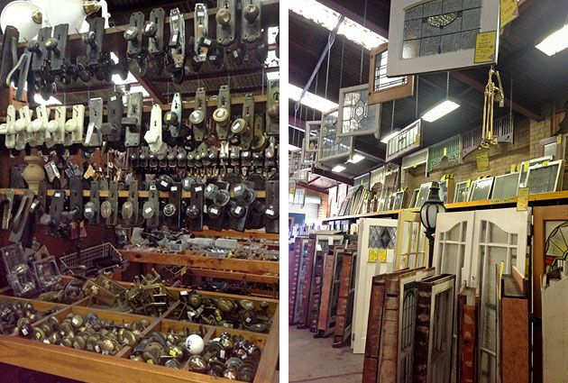 Architectural salvage, Select Salvage, Kensington, Melbourne