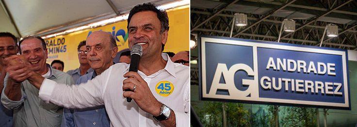 Delação da Andrade atinge Aécio Neves, Serra e Aloysio Nunes