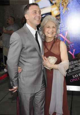 Lynn Cohen and David Eigenberg at event of Sex and the City (2008)