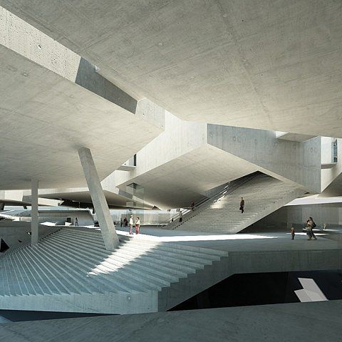 designcouncil:    documentarycity:    nrqarq:    Warsaw MoMA | Peter Dalsgaard    (via spatula)
