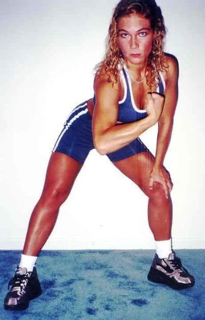 Violet Flame - Female Wrestling