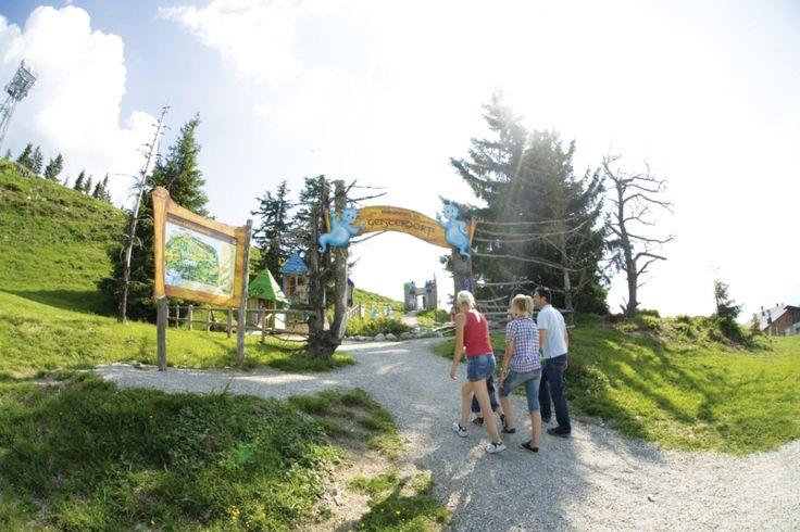 """Erlebnispark """"Geisterberg"""" im Alpendorf - Verwöhnhotel Berghof 4-Sterne-Superior Salzburger Land Österreich © www.hotel-berghof.com"""