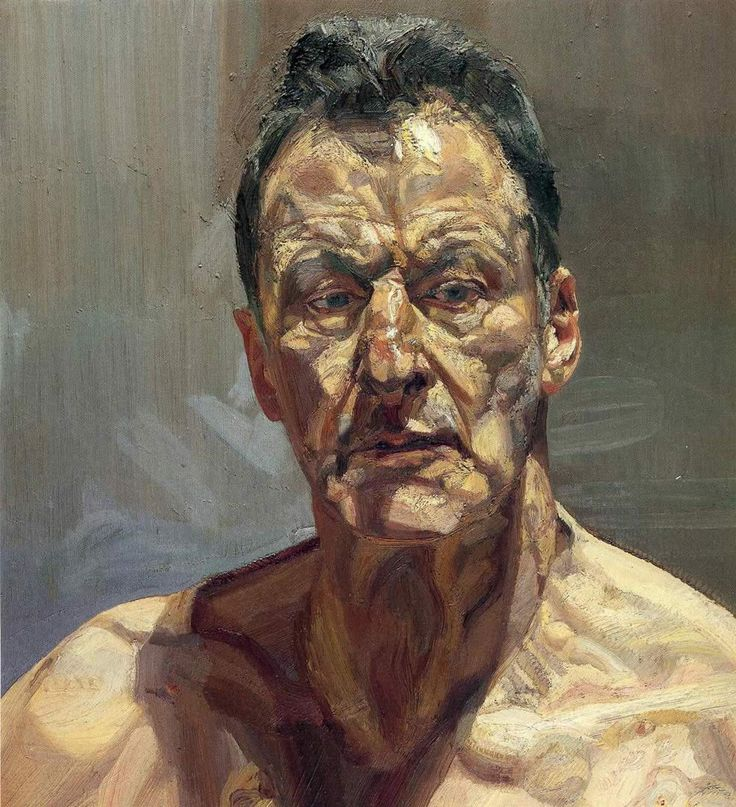 Lucian Freud_Reflection (Self Portrait)_1985