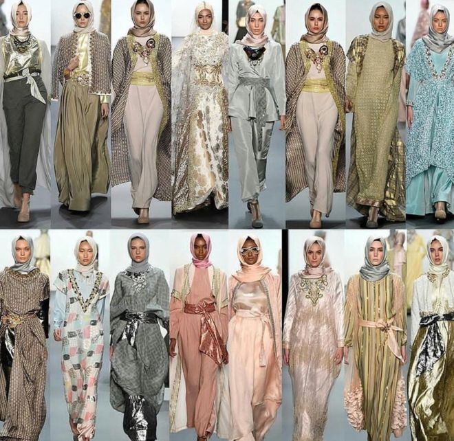 Anniesa Hasibuan collection at New York Fashion Week 2016