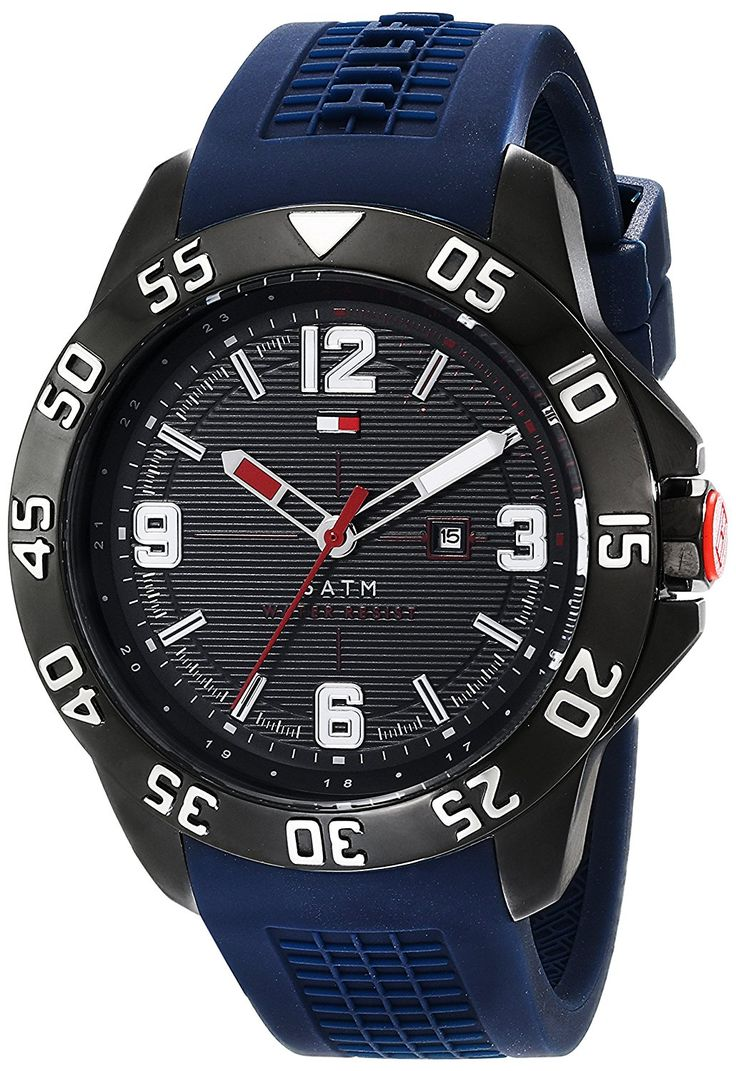 Tommy Hilfiger Men's 1790984 Stainless Steel Watch -- Learn more by visiting the image link.