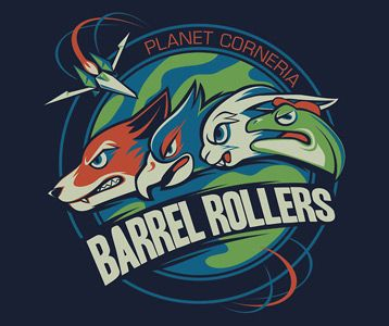 Barrel Rollers Star Fox Shirt