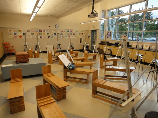 High School Art Classroom Design ~ Best images about ideal art room on pinterest amazing